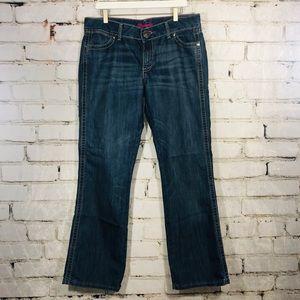 Wrangler women's boot cut jeans 13 14